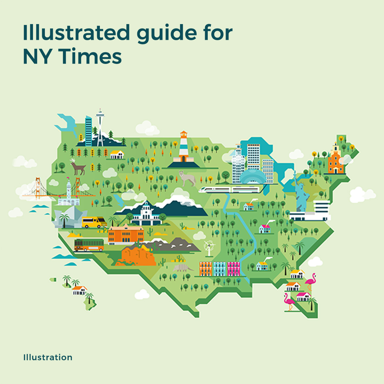 Illustrated guide for NY Times