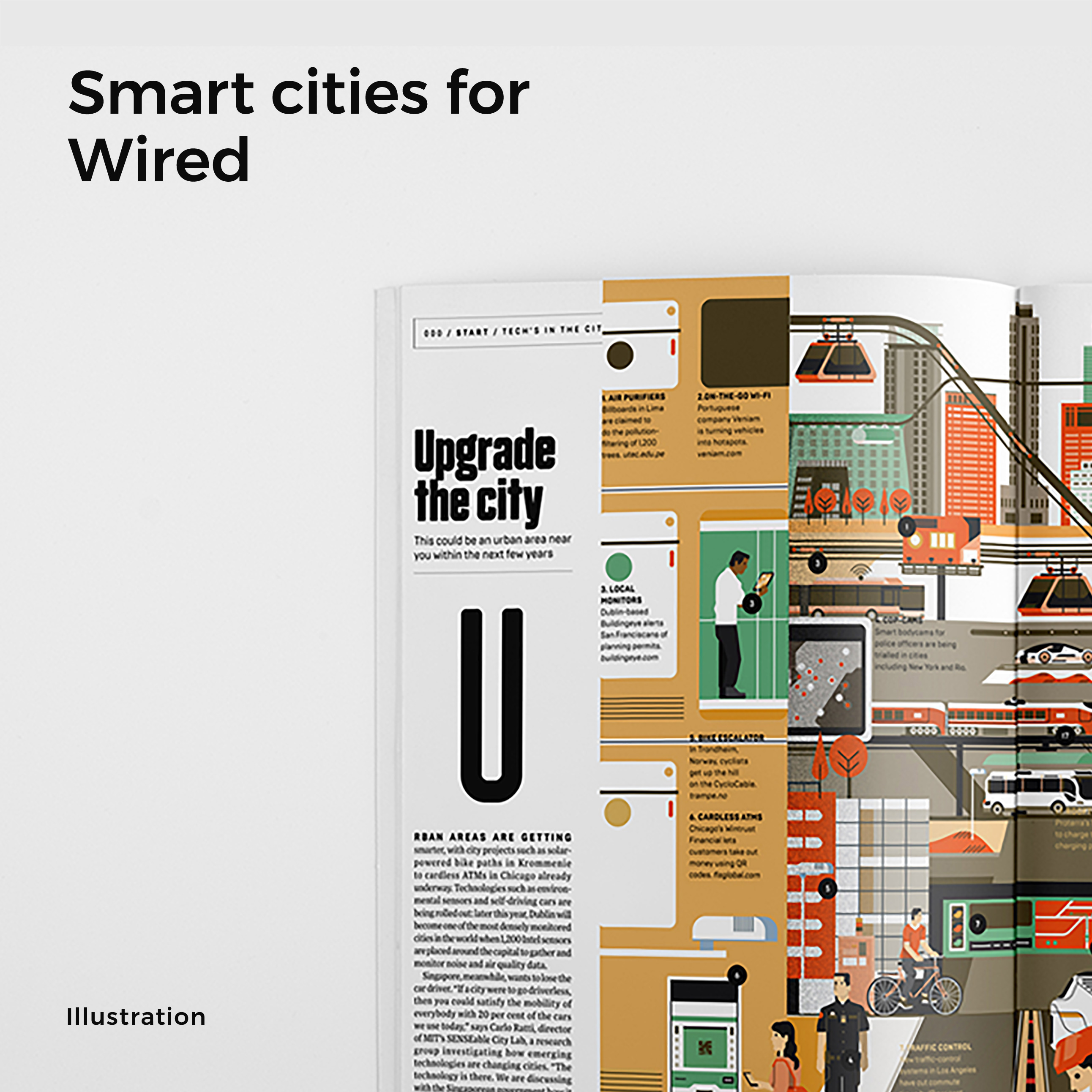 Smart Cities-Wired