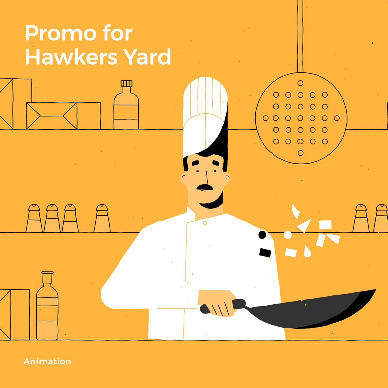 Promo for Hawkers Yard